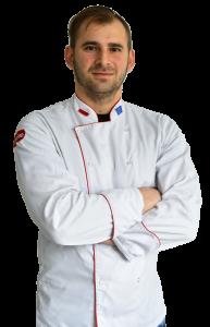 Mateusz Szpytma - prowadzący warsztaty w Pracowni Kulinarnej