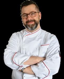 Rajmund Królik - prowadzący warsztaty w Pracowni Kulinarnej