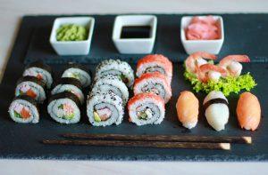 Zdjęcie sushi, warsztaty projektowe, bezpłatne warsztaty, warsztaty kulinarne