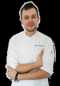 Paweł Kucharski - prowadzący warsztaty w Pracowni Kulinarnej